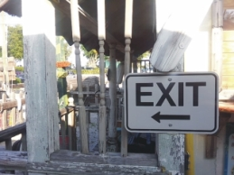 Enter/Exit Directional Sign Category From Street Sign USA