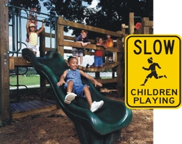 Children At Play Sign From Street Sign USA